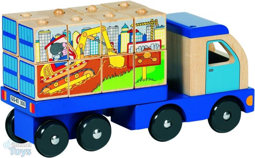 P44 Vrachtwagen, blokpuzzel